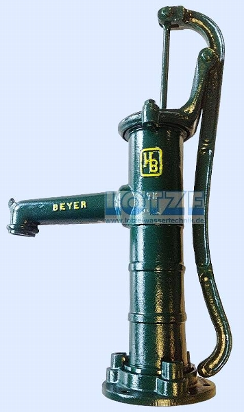 Schwengelpumpe Typ 153 - 75mm- mit Rundflansch # 100200