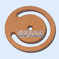 Beyer Lederventilklappe ohne Beschwerung 115 mm # 222115