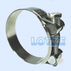 Schlauchschelle Gelenkbolzenschelle Edelstahl 304,  32 - 35 mm
