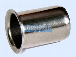 Stützhülse Stützrohr aus rostfreiem Stahl für PE-Rohr 1½ Zoll