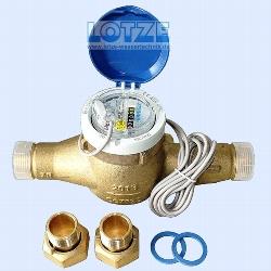 Wasserzähler 1 Zoll Qn 6 mit Impulsgeber