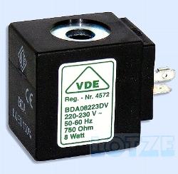 Magnetspule ODE 230 Volt AC 16 VA VDE