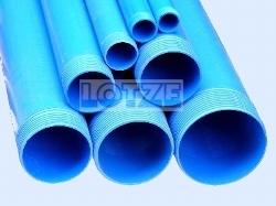 Brunnenfilter PVC DN 100 4 Zoll 1 m SW 0,75 mm Feingewinde