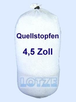 Quellstopfen 4½ Zoll, unterer Verschuss für Brunnenrohr 115 mm