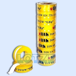 Teflonband 12x0,1mm 12 m DIN DVGW für Rohrgewinde 1 Rolle