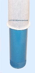"Sandfilter Filterstrumpf  80 - 115  mm für Brunnenfilter 3"" - 4½"" lfdm"