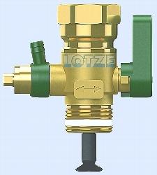 Reflex Flowjet Durchströmungsarmatur ¾ Zoll  für Membranbehälter # 9116799