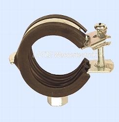Rohrschelle verzinkt  59-64 mm Clic für 2 Zoll Metall-/Abfl.-Rohr
