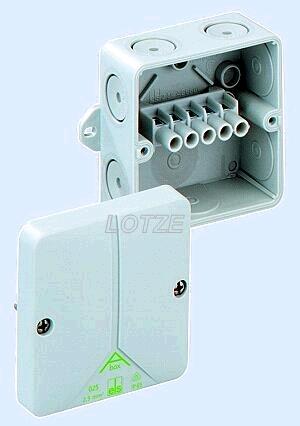 Abzweigkasten IP65 Abox 5x4mm² mit Klemmen