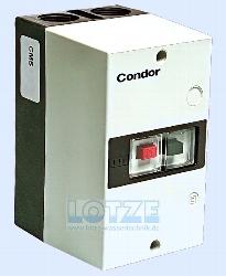 Condor Motorschutzschalter MKE2 063 mit Gehäuse