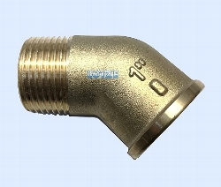 Winkel Messing 45°   1 Zoll     IG/AG