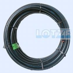 PE-Rohr HD 25x2,3 mm PN12,5 ¾ Zoll    25m - Ring