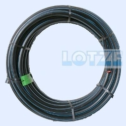 PE-Rohr HD 20x1,9 mm PN12,5  ½ Zoll   25m - Ring