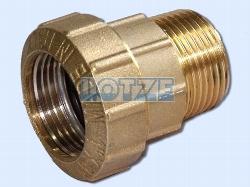 """PE-Rohr Klemmverbinder Verschraubung AG Messing 25 mm ¾"""""""