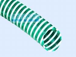 Saugschlauch PVC-Spirale 1 Zoll (25 mm innen) grün lfdm