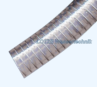 Fabulous Saugschlauch mit Stahldrahtspirale 1 Zoll Megasteel lfdm  XP38