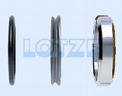 Innenteile / Ersatzteile Set für ½  Zoll ITAP PE-Messingverschraubung