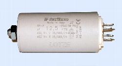 Kondensator mit Steckfahnen 12,5 µF