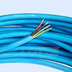 Kabel Unterwasserkabel für Trinkwasser 4 x 1,5 mm² rund, lfdm