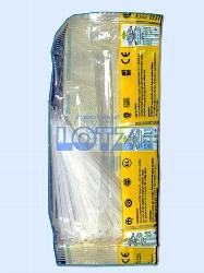 Kabelbinder 100 x 2,5 mm schwarz, 100 Stück im Beutel