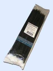 Kabelbinder 280 x 3,5 mm schwarz UV-stabilisiert 100 Stück
