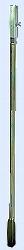 Handerdbohrer - Verlängerung, Stahl verzinkt 1 m lang