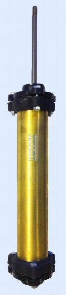 """Tiefbrunnen-Zylinder 80 mm x 1½"""" Messing # 107770"""