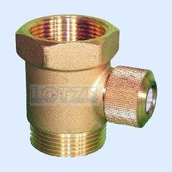 Belüfter Nr. 6 Schnüffelventil für die Pumpensteigleitung 1½ Zoll Messing