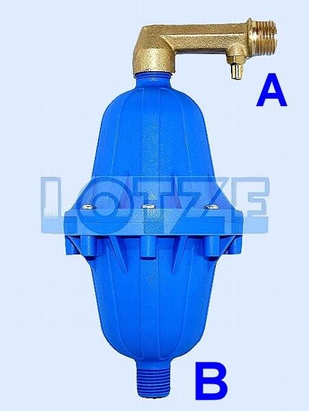 Belüfter 2 für Druckkessel bis 500 Liter, automatisch, ½ Zoll ...