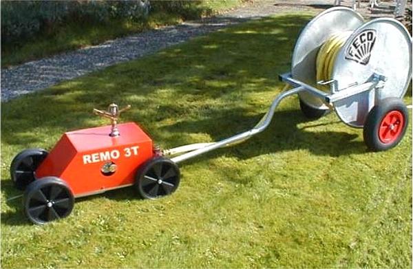 Großflächenregner REMO 3T Compact selbstfahrend
