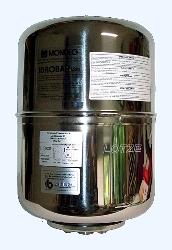 Membranbehälter zylindrisch  8 ltr Edelstahl