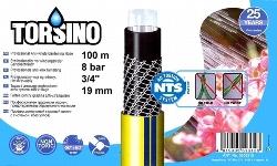 Wasserschlauch Torsino 19mm  ¾ Zoll  8 bar 100m-Rolle