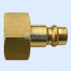 Druckluftanschluss ½ Zoll Innengewinde mit Drucklufttülle