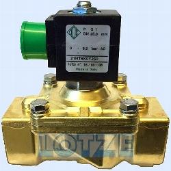 Magnetventil ODE 1 Zoll 21HT6KOY250-UDA12024CS 24V DC / 12 VA,