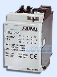 Installationsschütz Fanal HSLA21-01 bzw. Iskra IK21-01