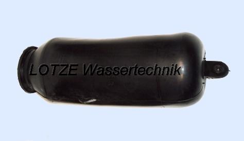 Membrane JOVAL für Druckbehälter 100 Liter Edelstahl